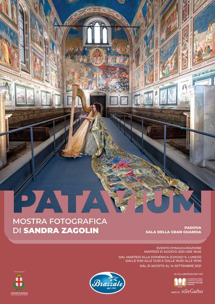 """Locandina della mostra """"Patavium"""""""